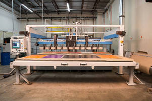 Waterjet Shuttle Systems support high-volume cutting.