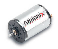Miniature Brush DC Motor features coreless design.