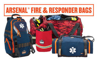 Gear Bags meet needs of fire and first responders.