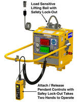 Vacuum Lifter Generator safely handles non- to semi-porous loads.