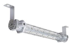 Explosion Proof LED Light Fixture features low-profile design.