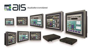 AIS's Industrial Panel PCs with Modular Design Platforms Include a Wide Range of Embedded PCs and Touch Displays Solutions for Automation and Control Systems Applications