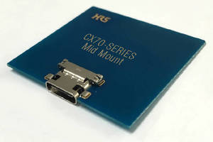 Type-C Compliant Interface Connector supports 5 Gbps.