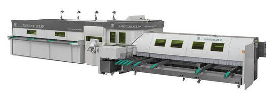 Fiber Laser 3D Tube Cutting System is fully automated.