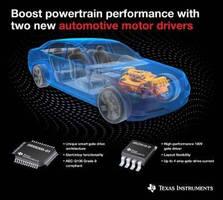 Motor Drivers boost powertrain performance.