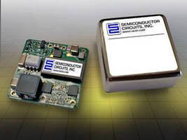 DC-DC Converters feature ultra-wide input range.
