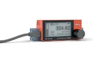 Thermal Mass Flow Meter utilizes 3-contact alarm module.