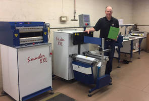 """The ODM Brand of Book Binding Machinery Enabled Wrap-Ups to Enter into the """"Short run"""" Case Binding Market."""