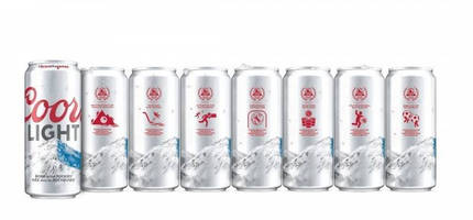 Coors Light Canada and Crown Partner to Bring Variable Print Cans to the Coors Light Games