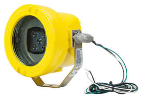 Blue LED Warning Light increases safety around heavy machinery.