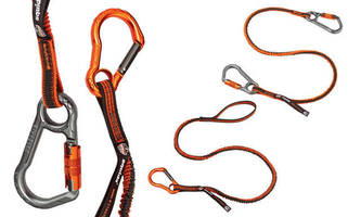 Shock Absorbing Tool Lanyards increase safety above and below.