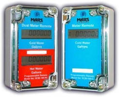 Remote Water Meter Display has modular programming interface.