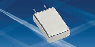 Aluminum Electrolytic Capacitor features glass-to-metal seal.