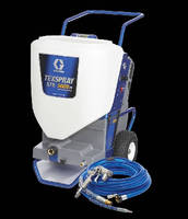 Texture Sprayer supports interior/exterior finishing.