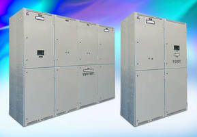 Automatic Transfer Switches include bypass/isolation functions.