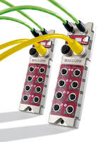 Machine Mount I/O Blocks are based on CC-Link IE Field network.