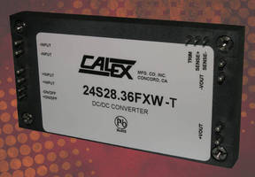 Full Brick 1,000 W DC/DC Converter operates from -55 to +105°C.