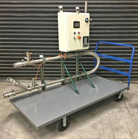 Portable Pumping System incorporates static mixer.