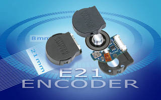 Compact Encoders target OEM precision-motion control applications.