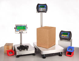 Bench Scales offer capacities from 60-600 lb.