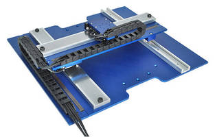 Linear Stepper Stage offers 2 axes of coordinated motion.