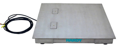Durable Process Weighing Scales come in standard and custom sizes.