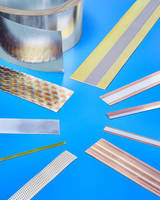 Composite Clad Metal Strip combines best properties of each metal.