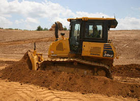 Crawler Dozer features super-slant-nose design.
