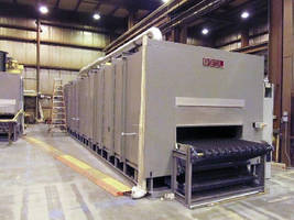 Wisconsin Oven Ships Conveyor Curing Oven for a Leading Supplier of Flooring Products