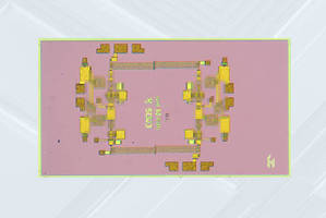 Wideband Driver Amplifier features 26-35 GHz frequency range.