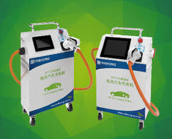 Electric Vehicle DC Chargers feature moveable design.