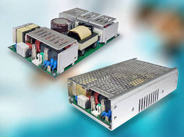 AC-DC Power Supplies support medical and ITE applications.