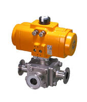 Sanitary Clamp Ball Valve meets FDA and USDA 3A requirements.
