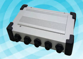 Fanless Embedded System operates from -25 to 70°C. .