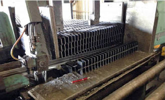 Bandsaw Blade suits steel grating applications.