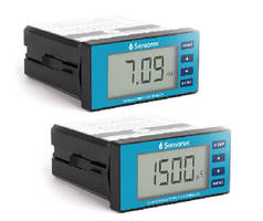 Online Process Meters measure pH, ORP, or conductivity.