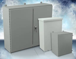 NEMA-Rated Enclosures afford indoor/outdoor protection.