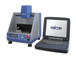 Seika Machinery Now Carries the Malcom SWB-2 Automatic Wetting Balance Tester
