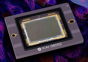 CCD Image Sensor exhibits optimized NIR performance.