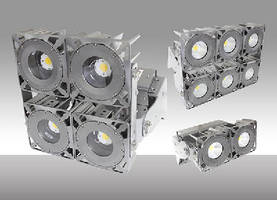 LED Lighting System suits flood and sports applications.