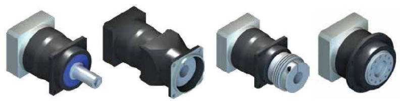Inline Planetary Gearbox limits lost motion.