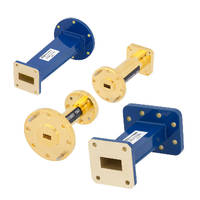 Waveguide Transitions operate up to 110 GHz across 14 bands.