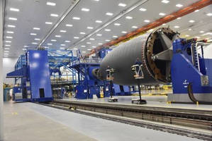 Spirit AeroSystems Installing One of the World's Largest Autoclaves for Composite Manufacturing