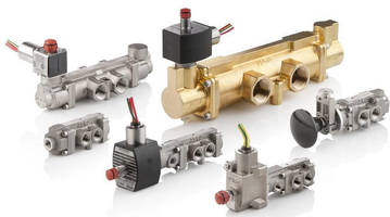 Spool Valves come in pipe sizes for optimized flow rates.