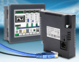 Ethernet Communication Module increases interface panel abilities.
