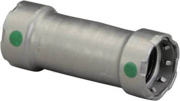 Pipe Joining Systems come with extended no-stop couplings.