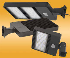 LED Shoebox Area Lights come in low- and high-voltage versions.