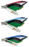 FMC Carrier PCIe Cards host high-performance FPGAs.