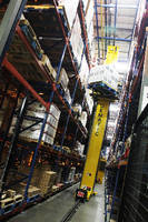 Pallet Storage System automates conventional warehousing.