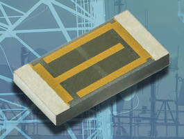 Compact Non-Magnetic Thin Film Chip Resistors are rated up to 6 W.